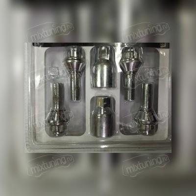 Секретный болт с эксцентриком 12х1,5х28 (литой диск)
