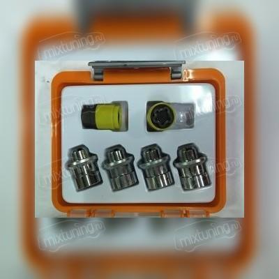 Секретная гайка литого диска 12х1,5х36 (с прессшайбой оранжевая коробочка)