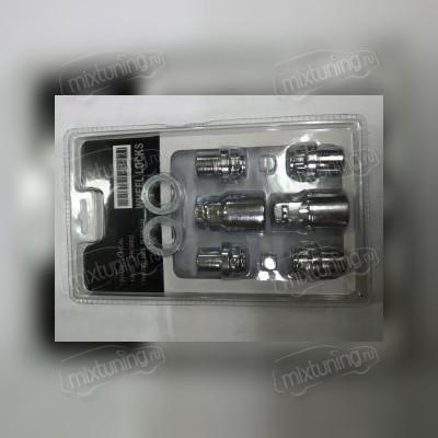 Секретная гайка литого диска 12х1,5х37 (с прессшайбой в блистере)