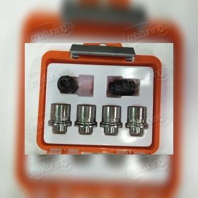 Секретная гайка литого диска 14х1,5х36 (с прессшайбой оранжевая коробочка)