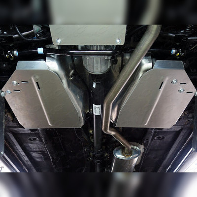 Защита бака комплект (алюминий) 4мм