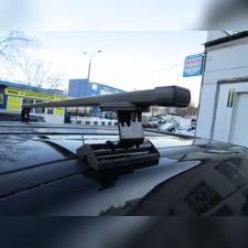 Багажник на крышу с прямоугольными поперечинами Ford C-Max 2003-2010 (в штатные места)