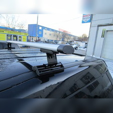 """Багажник на крышу с аэродинамическими поперечинами Ford C-Max 2003-2010 """"Аэро"""" (в штатные места)"""